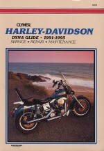 HARLEY DAVIDSON DYNA GLIDE 1991-1995