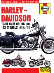 HARLEY DAVIDSON TWIN CAM 88, 96 AND 103 MODELS 99 TO 10