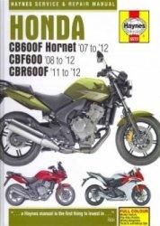 HONDA CB600F HORNET CBF600 CBR600F (5572)
