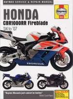 HONDA CBR1000RR FIREBLADE '04 TO '07