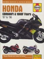 HONDA CBR600F1 & 1000F FOURS '87 TO '96 (1730)