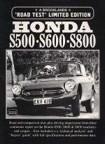 HONDA S500 S600 S800