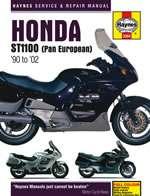 HONDA ST1100 PAN EUROPEAN V-FOURS (90 - 02) (3384)