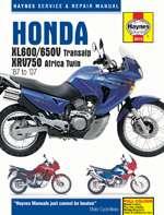 HONDA XL600/650V TRANSALP AND XRV750 AFRICA TWIN (87 - 07) (3919)