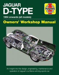 JAGUAR D-TYPE: 1954 ONWARDS (ALL MODELS)