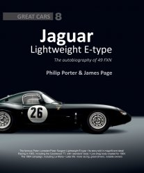 JAGUAR LIGHTWEIGHT E-TYPE - THE AUTOBIOGRAPHY OF 49 FXN