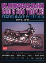 KAWASAKI 500 & 750 TRIPLES 1969-1976
