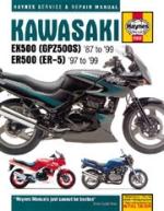 KAWASAKI EX500 (GPZ500S) '87 TO 99' ER500 (ER-5) '97 TO '99 (2052)