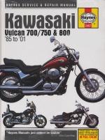 KAWASAKI VULCAN 700/750 & 800 '85 TO '01 (2457)