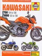 KAWASAKI Z750 ('04 TO '08) Z1000 ('03 TO '08) (4762)