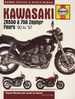 KAWASAKI ZR550 & 750 ZEPHYR FOURS '90 TO'97  (3382)