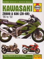 KAWASAKI ZX600 & 636 (ZX-6R) '95 TO '02  (3541)