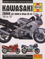 KAWASAKI ZX600 (ZZ-R600 & NINJA ZX-6) '90 TO '97 (2146)