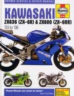 KAWASAKI ZX636 (ZX-6R) & ZX600 (ZX-6RR) (4742)