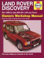 LAND ROVER DISCOVERY NOV 1998 TO JULY 2004 (S TO 04 REG.) DIESEL (4606)