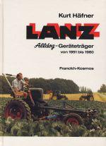 LANZ ALLDOG-GERATETRAGER VON 1951 BIS 1960
