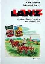 LANZ LANDMASCHINEN PROSPEKTE VON 1935 BIS 1945