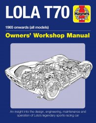 LOLA T70 OWNER'S WORKSHOP MANUAL