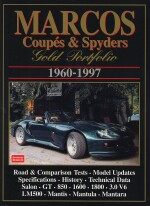 MARCOS COUPES & SPYDERS 1960-1997
