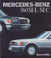 MERCEDES BENZ 560 SEL-SEC