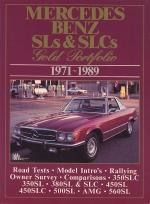 MERCEDES BENZ SLS & SLCS 1971-1989