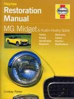 MG MIDGET & AUSTIN HEALEY SPRITE RESTORATION MANUAL