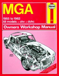 MGA 1955 TO 1962 ALL MODELS OHV, DOHC
