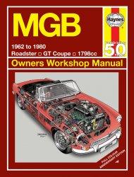 MGB 1962 TO 1980 OWNERS WORKSHOP MANUAL (4894)