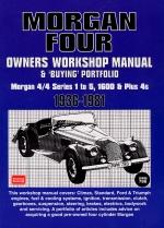MORGAN FOUR 1936-1981 OWNERS WORKSHOP MANUAL & BUYING PORTFOLIO