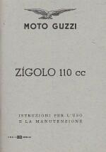 MOTO GUZZI ZIGOLO 110 CC USO MANUTENZIONE