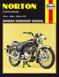NORTON COMMANDO 1968 TO 1977