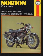 NORTON COMMANDO 745 CC, 828 CC, 1968 TO 1977 (0125)