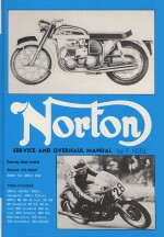 NORTON SERVICE AND OVERHAUL MANUAL