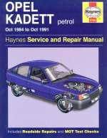 OPEL KADETT PETROL OCT 1984 TO OCT 1991 (3196)
