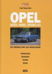 OPEL KAPITAN - ADMIRAL - DIPLOMAT A & B