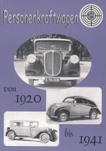 PERSONENKRAFTWAGEN STEYR VON 1920 BIS 1941