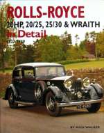 ROLLS ROYCE 20 HP 20/25 25/30 & WRAITH IN DETAIL