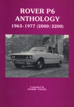 ROVER P6  ANTHOLOGY 1963-1977 (2000/2200)