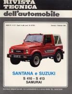 SANTANA E SUZUKI S 410 - S 413 SAMURAI