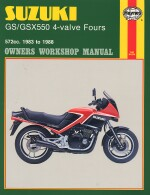 SUZUKI GS/GSX550 4-VALVE FOURS (1133)