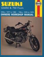 SUZUKI GS550 & 750 FOURS (0363)
