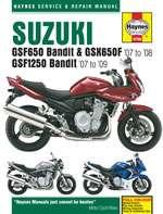 SUZUKI GSF650/1250 BANDIT & GSX650F (07 - 09) (4798)