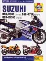 SUZUKI GSX-R600 ('01 TO '03) GSX-R750 ('00 TO '03) GSX-R1000 ('01 TO '02) (3986)