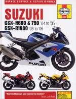 SUZUKI GSX-R600 & 750 ('04 TO '05) GSX-R1000 ('03 TO '06) (4382)