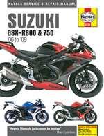 SUZUKI GSX-R600 & 750 (06 - 09) (4790)