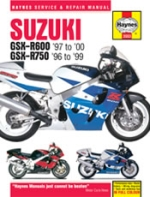 SUZUKI GSX R600 '97 TO '00 GSX R750 '96 TO '99 (3553)