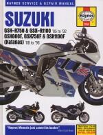 SUZUKI GSX-R750 & GSX-R1100  '85 TO '92 - GSX600F, GSX750F & GSX1100F (KATANAS) '88 TO '96 (2055)