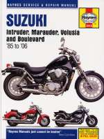 SUZUKI INTRUDER, MARAUDER, VOLUSIA AND BOULEVARD (2618)