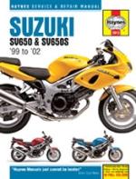 SUZUKI SV650 & SV650S '99 TO '02 (3912)