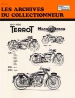TERROT 1947-1958 125 (EP, ETP, ETPC, ETD, ETM, ETDS, EMS 1, EDL, EDV) 350 (HCT) 500 (RGDT)